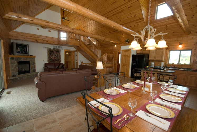 A Dream Stay 6 Waterford Dr Galena Log Home Rentals